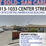JUST SOLD: 1013-1033 Center Street, San Carlos